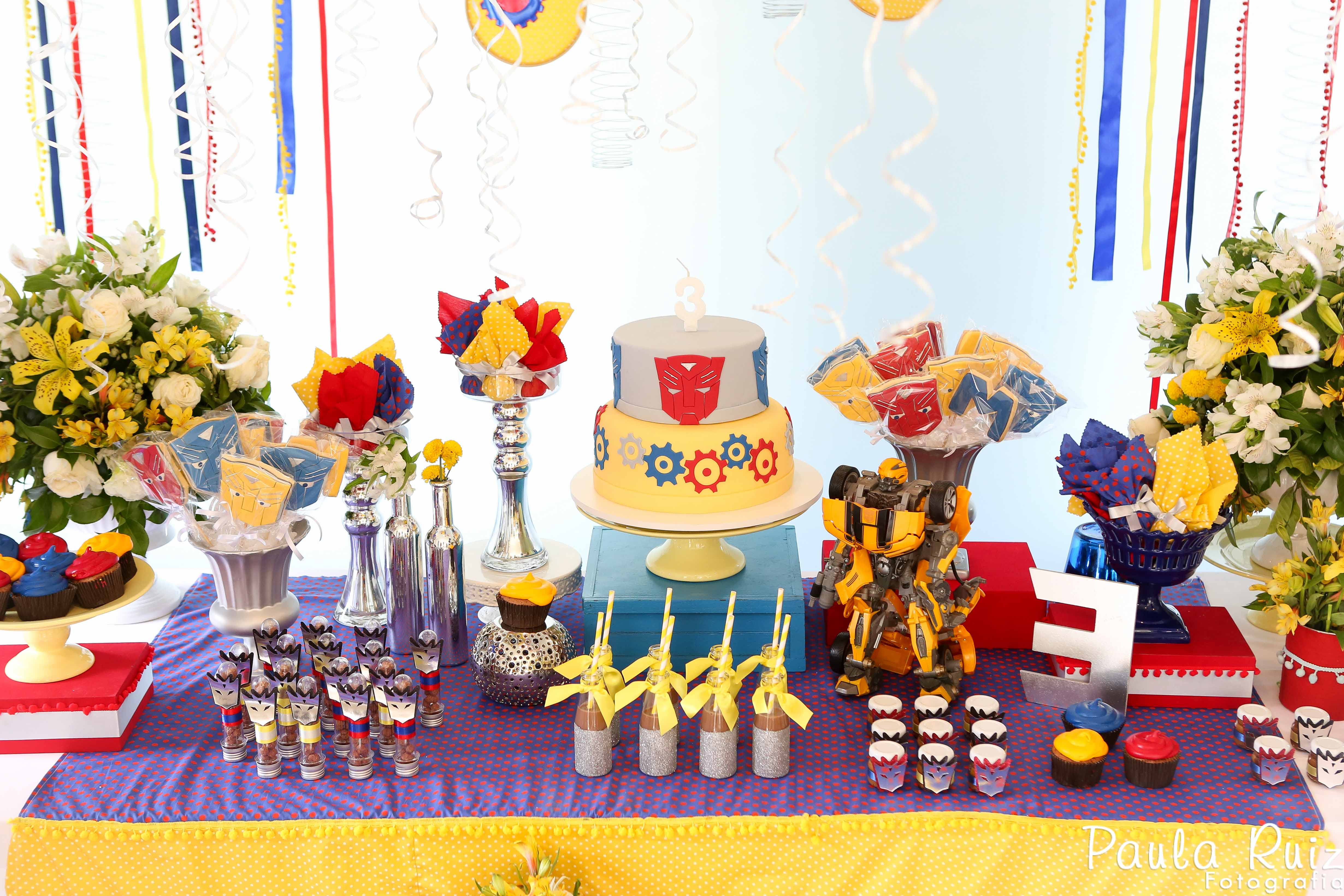 Festa Transformers Infantil Pictures to pin on Pinterest
